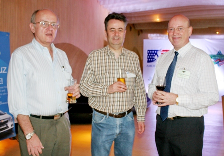 Stephen Frost, (Bangkok International Associates), Mark Butters, (RSM Thailand) and Graham Macdonald (MBMG).