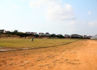 The National stadium is still not completed.