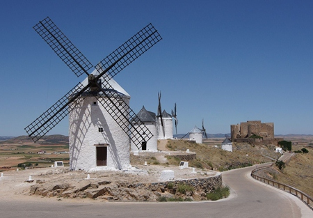La Mancha - Don Quixote country (Photo: Jebulon)
