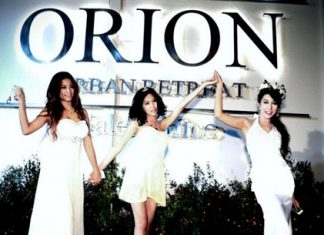 Orion - Urban Retreat made its debut at a glitzy launch party on May 4.