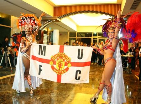 Manchester United's new Brazilian fan club.
