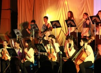 The GIS orchestra at a recent event.