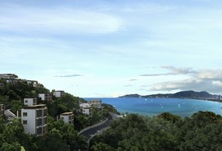 Amari Residences Phuket is situated on a prime coastal site above Patong Bay.