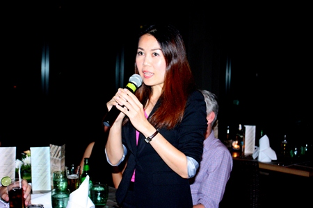 Prissana Chaisrisong, Assistant Director of Sales, Amari Orchid Pattaya.