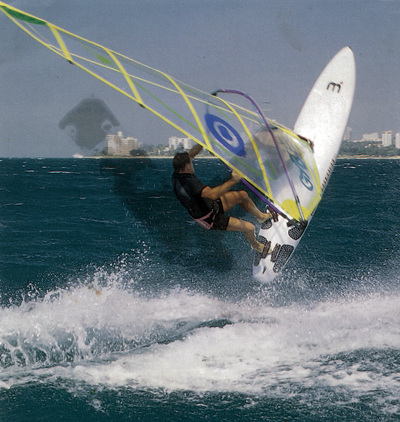 1995 - Thailand rules the waves - As the Kingdom watches Asia's bests athletes perform in Thailand, many eyes are on the Eastern Seaboard as the home team goes for SEA Games gold, silver and bronze in Windsurfing, Yachting and Bowling.