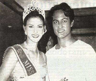 1996 - Pattaya Pulchritude reigns supreme. Both Cindy Burbridge, Miss Thailand World 1996, and Derek Sirisampan, Mr. Thailand World 1996, hail from Pattaya.