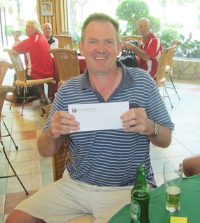 Paul Heyworth - winner in A Flight.
