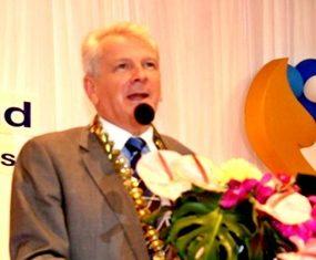 Andrew J Wood, National President, Skål International Thailand, www.skalthailand.org - Bangkok 19 July 2013.