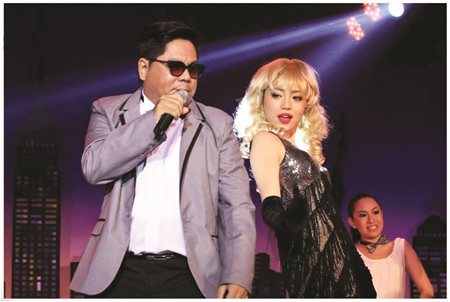 Psy and Madonna - Gangnum Style.