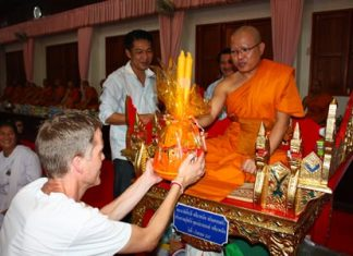 Buddhists have been presenting candles to monks for thousands of years during Khao Phansa.