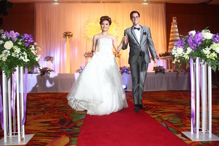 The international wedding package is one of the many themes available for the bride and groom.
