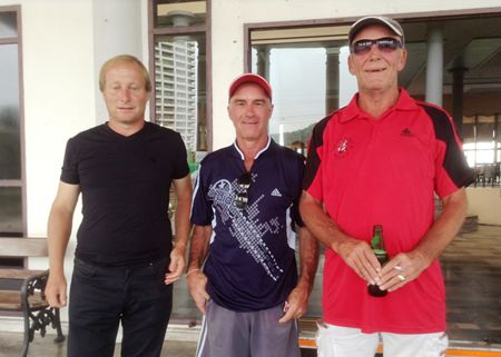Mike Allidi, Vince Romero & Russell Calcutt.