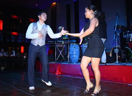 Couples danced the night away to Merengue, bossa nova, samba and more.