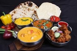 Delicious Indian cuisine at Golden Chimney.