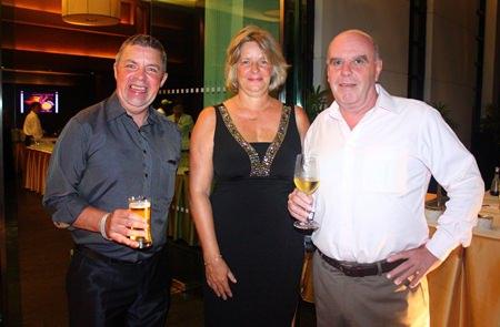 (L to R) Paul Strachan, Bea Grunwell and Joe Grunwell.