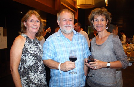(L to R) Karyn Walker, Murray Walker and Linden Phanpho.