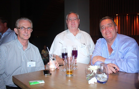 (L to R) Mike Griffis, Andrew McDonell and Kevin Fisher, MD of CEA.