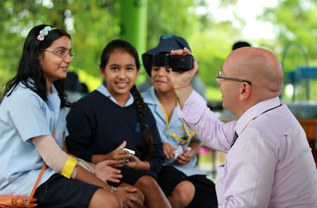 What's your favourite Roald Dahl book? Head of English Mr Beales interviews students.