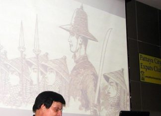 On Sunday, 1st of September, the Pattaya City Expats Club in conjunction with the National Museum Volunteers (NMV) Pattaya group had as its guest speaker NMV member and lecturer John Toomey. He is well known for his vast knowledge of and passionate interest in Asian art and history.