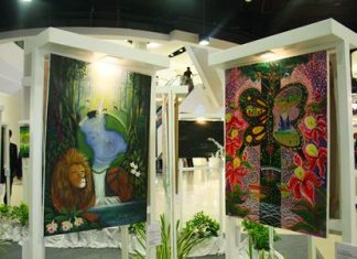 The Art for the Planet 2013 exhibition is on display at Central Festival Pattaya Beach through Sept. 30.