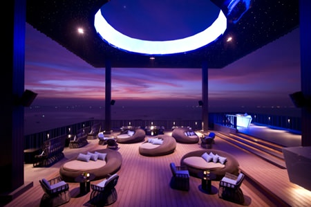 Horizon bar & lounge, Hilton Hotel Pattaya.
