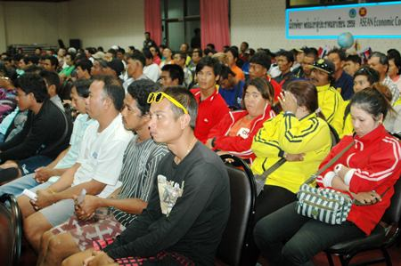 Marine authorities assembled 300 local boat operators for yet another safety briefing.