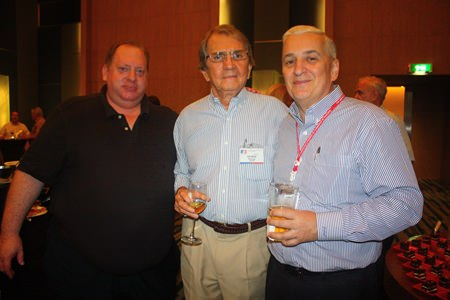 (L to R) William Fantozzi, MD of FustTech United Ltd., George T. Strampp, Managing Partner of AMS and David R. Nardone, President & CEO of Hemaraj Land and Development PCL.