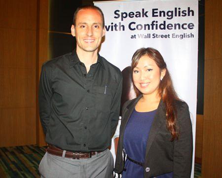 (L to R) Ashley Griffiths and Chattiya Mahuttanasopol.