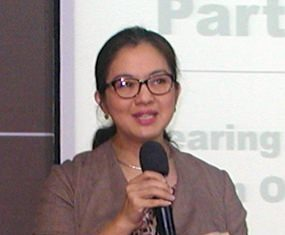 PCEC's speaker for October 20th was Dr. Mukda Pattana-anek, PhD, appearing on behalf of Bangkok Hospital Pattaya (BHP).