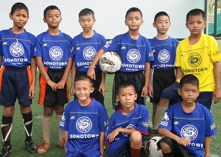 The Father Ray Children's Village were unlucky to concede more goals than any other team, eleven in one game, but they still managed to smile.