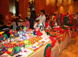 The Christmas Bazaar, which signals the opening of the Christmas shopping season here in Pattaya, last year featured 80 vendors from all over Thailand.