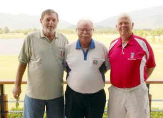 Mike Winfield, Dave Richardson and Elias Magnusson.