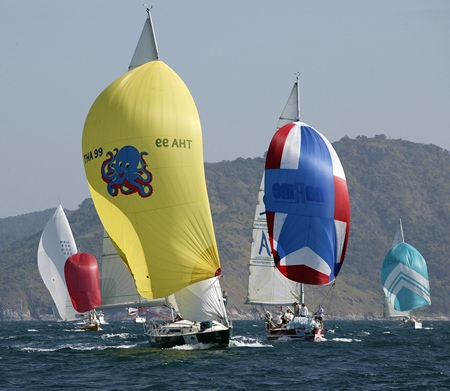 Over 100 craft of all shapes and sizes will be competing from Nov. 30 – Dec. 6 off Kata Beach in Phuket.