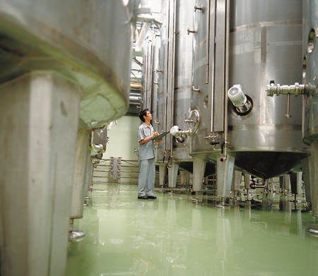 Wine tanks at Siam Winery, home of Mont Clair budget wines.