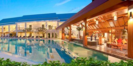 The Thanyapura hotel and sports resort in Phuket.