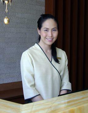 Chuenkamon Leechutiwat Spa Manager.