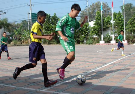 The Football Tournament of the Elementary students