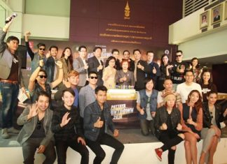 Organizers and guests announce Pattaya's countdown to 2014.