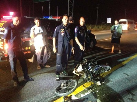 Another drunken motorcyclist ends up dead on Thailand's roads.
