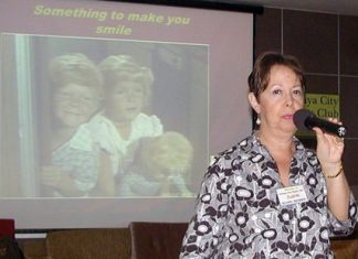 Pattaya City Expats Clubs' December 1st meeting began with Treasurer Judith Edmonds reminding members of the Christmas collection for gifts for children of orphanages in the Pattaya area.
