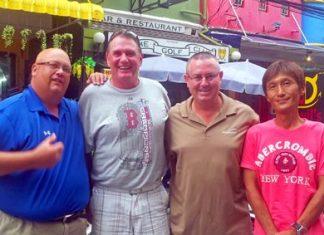 Steve Snelgrove, Nigel Flanagan, Murray Hart and Ken Aihara.
