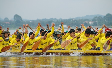Local rowers fared well at the recently completed Pattaya Traditional Long Boat Tournament held at Mabprachan Lake.