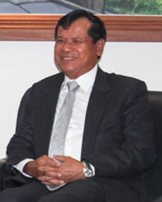 Cambodia's Minister of Tourism, Thong Khon.