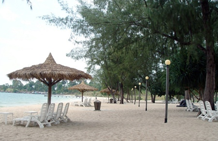 Sokha Beach - Cambodia Bay, now a member of the Most Beautiful Bays in the World Club.