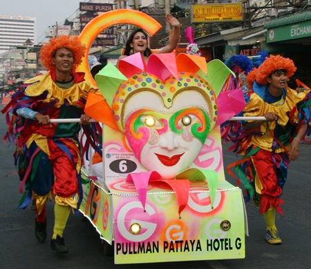 The Pullman Hotel are always the most colourful team.