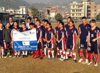 St. Andrews sports team.