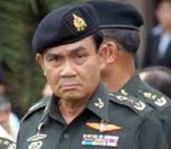 Army chief, Gen Prayuth Chan-ocha.
