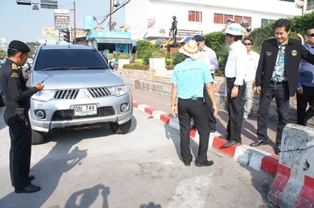 Police officials have started ticketing violators of no-parking zones.