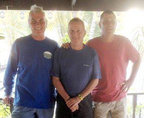 Jeff Wylie, Jim Federspiel & Bob Edwards.
