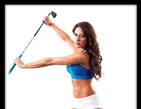 The Golf Channel's Holly Sonders.